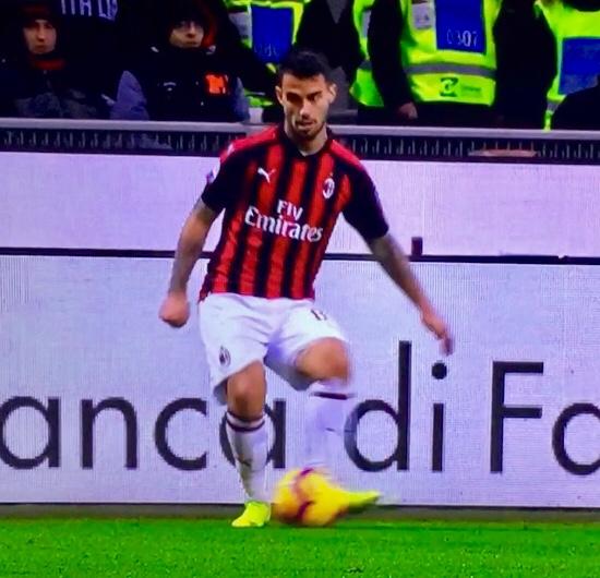 Suso In Milan Torino 2018 19