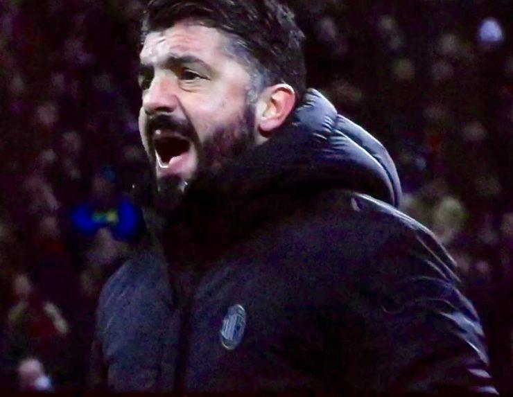 Gattuso In Milan Napoli 2018 19