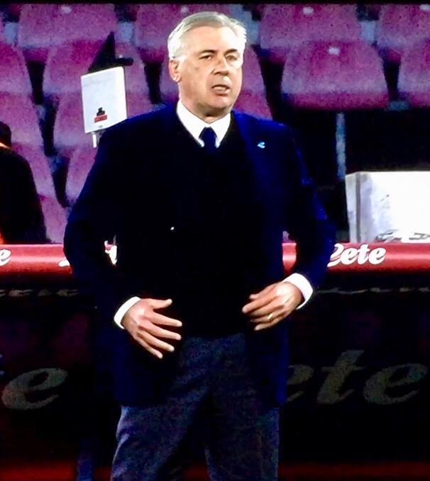 Ancelotti In Napoli Udinese 2018 191