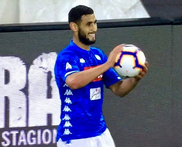 Ghoulam In Napoli Udinese 2018 19