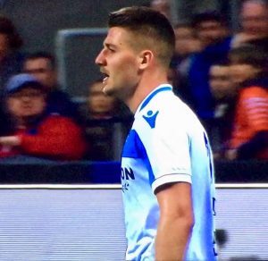 Milinkovic Savic In Inter Lazio 2018 19