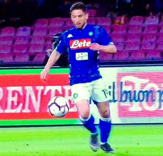 Mertens In Napoli Genoa 2018 19Mertens In Napoli Genoa 2018 19