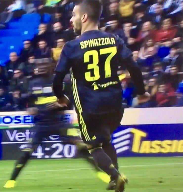 Spinazzola In Sapl Juventus 2018 19