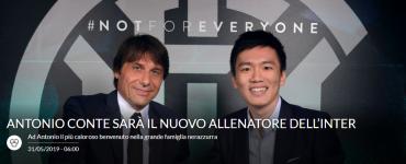 Antonio Conte è Il Nuovo Allenatore Dell Inter