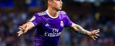 James Rodriguez Giocatore Di Liga Durante La Partita Tra Espanyol E Real Madrid Al RCDE Stadium Del 18 Settembre 2016 A Barcellona Spagna