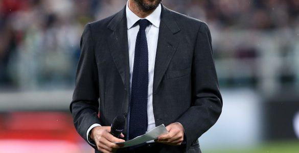 Andrea Agnelli Presidente Della Juventus Durante La Gara Di Camionato Tra Juventus E Atalanta