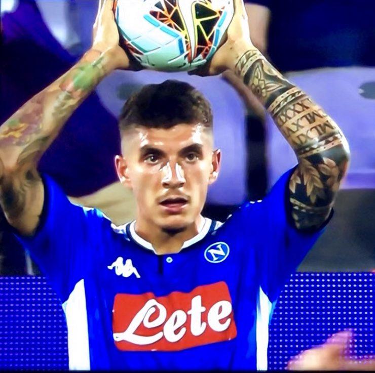 Di Lorenzo In Fiorentina Napoli 2019 20