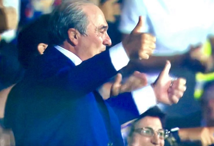 Commisso In Fiorentina Napoli 2019 20