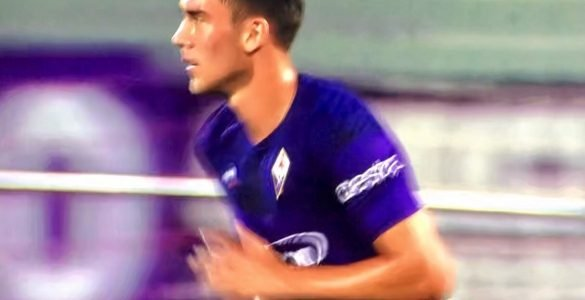 Vlahovic In Fiorentina Napoli 2019 20 10