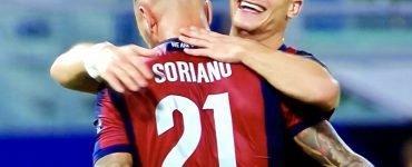 Soriano E Orsolini In Bologna Spal