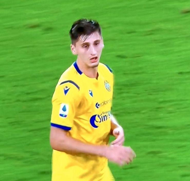 Kumbulla In Napoli Verona 2019 20Kumbulla In Napoli Verona 2019 20
