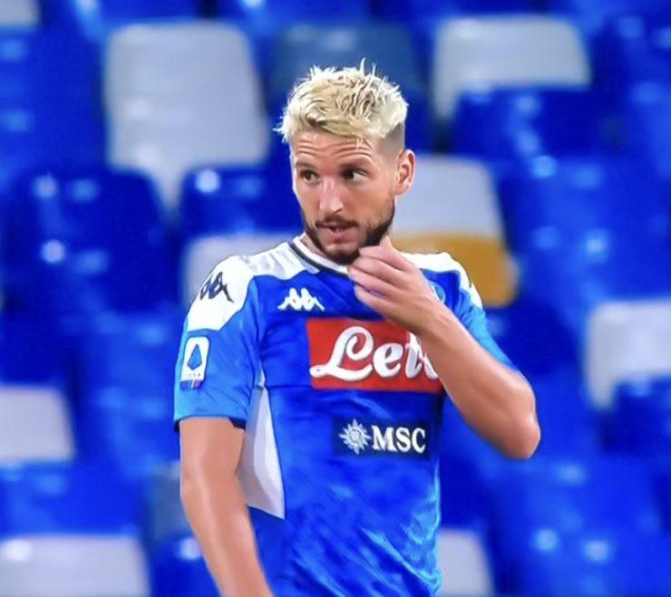 Mertens In Cagliari Napoli 2019 20