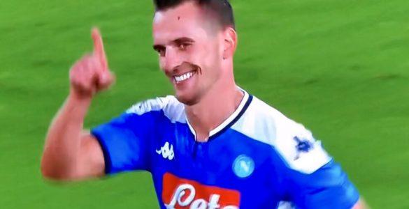 Milik In Napoli Verona 2019 20 2