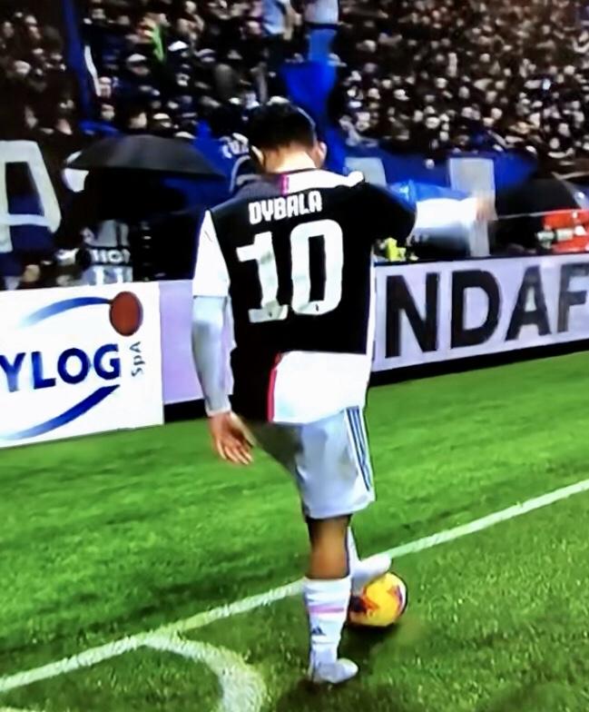Dybala In Atalanta Juventus 2019 20
