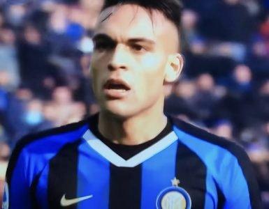 Lautaro Martinez In Inter Cagliari 2019 2020