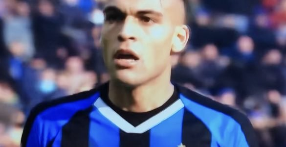 Lautaro Martinez In Inter Cagliari 2019 2020