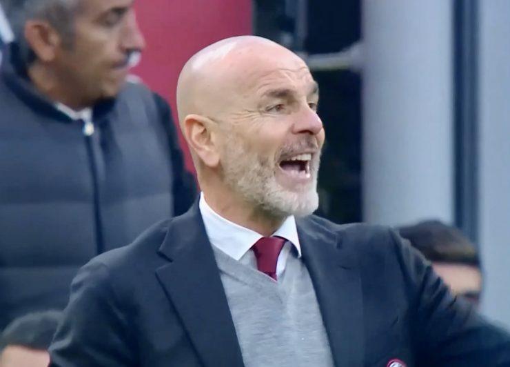 Pioli in Milan-Verona 2019-2020