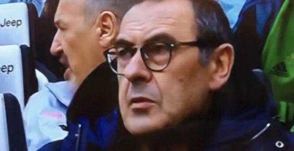 Sarri in Juventus-Brescia 2019-20