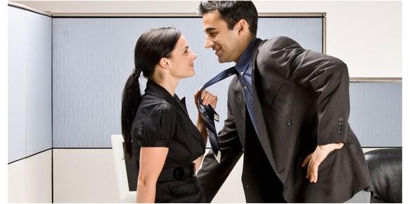 amour au bureau
