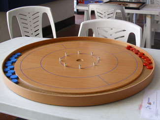 Word of the day : crokinole