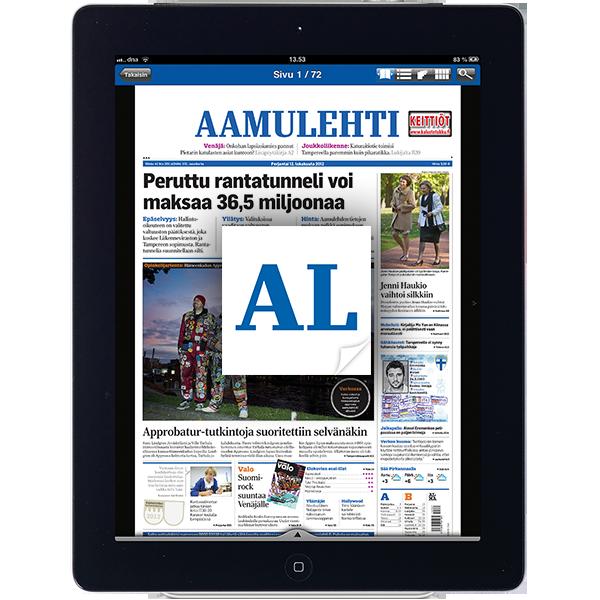 Aineistot ja aikataulut – Aamulehti