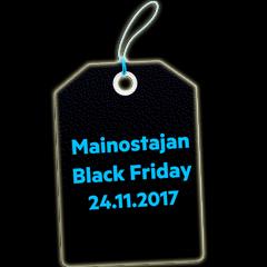 Mainostajan Black Friday on täällä!