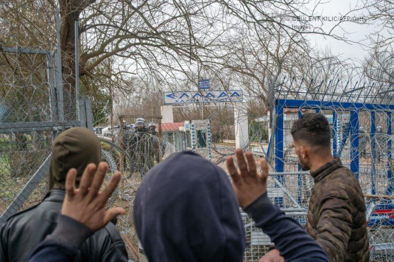 Turkin ja Kreikan rajalla Edirnessä