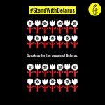 #StandWithBelarus