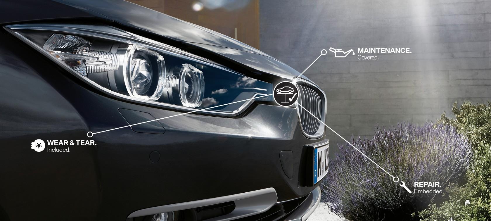 BMW Huolenpitosopimus Delta Bavariasta pitää huolta autosta ja asiakkaasta