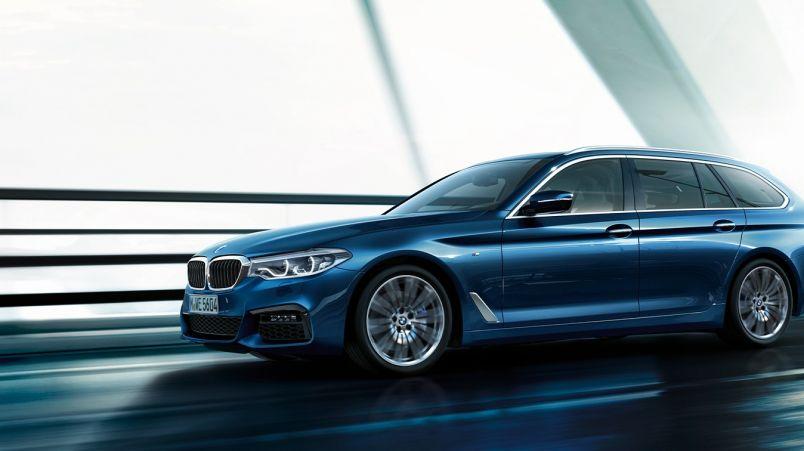 BMW 5-sarjan Touring (2017)