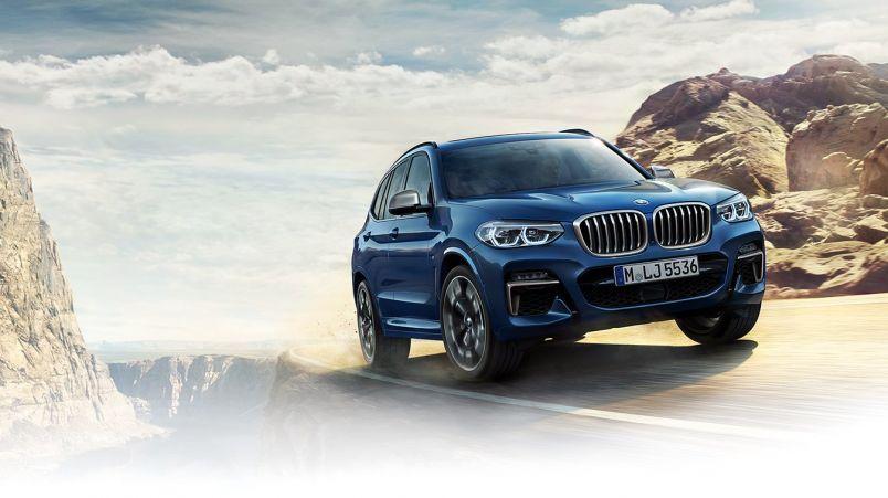 Täysin uusi BMW X3