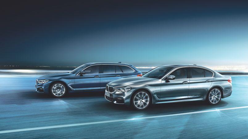 BMW 5-sarjan Sedan ja Touring