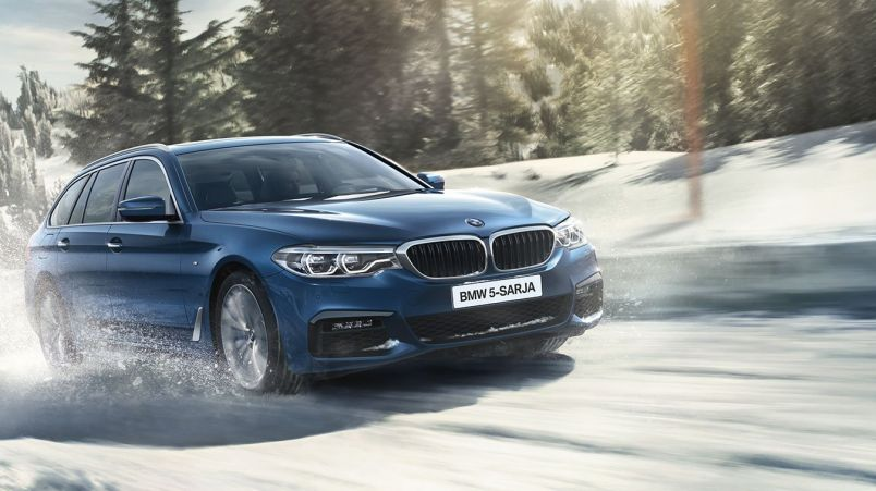 bmw 5-sarjan winter exclusive