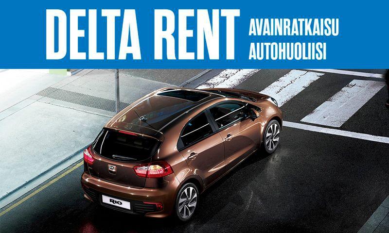 Delta Rent - Avainratkaisu autohuoliisi