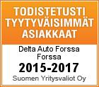 Todistetusti tyytyväisimmät asiakkaat 2015-2017