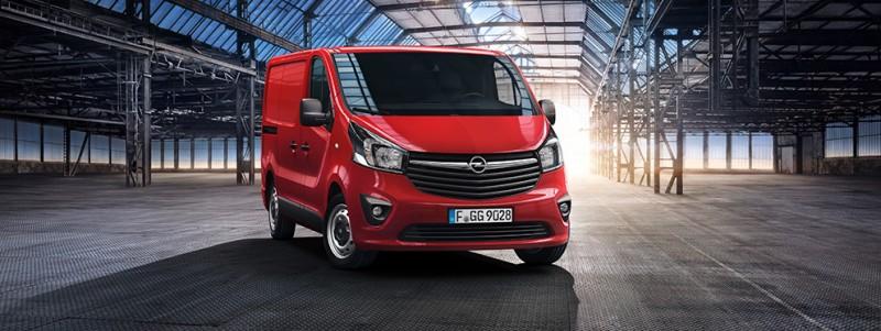 Uusi Opel Vivaro