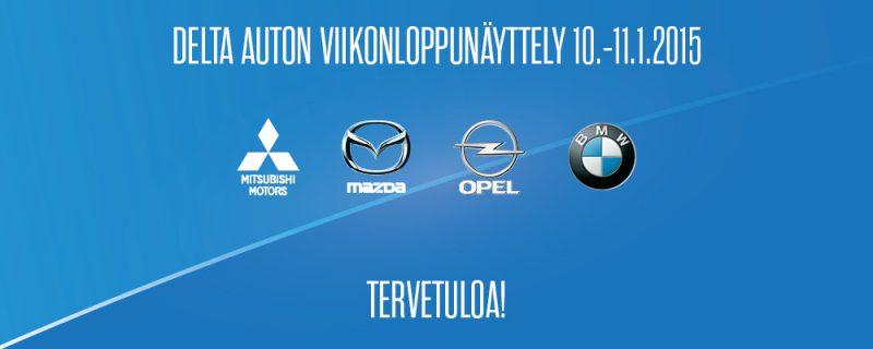Delta Auton viikonloppunäyttely 10.-11.1.2015