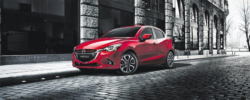 Uusi Mazda2 ensiesittelyssä