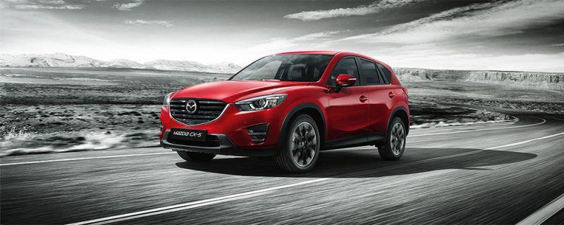 Uudistunut 2015 Mazda CX-5