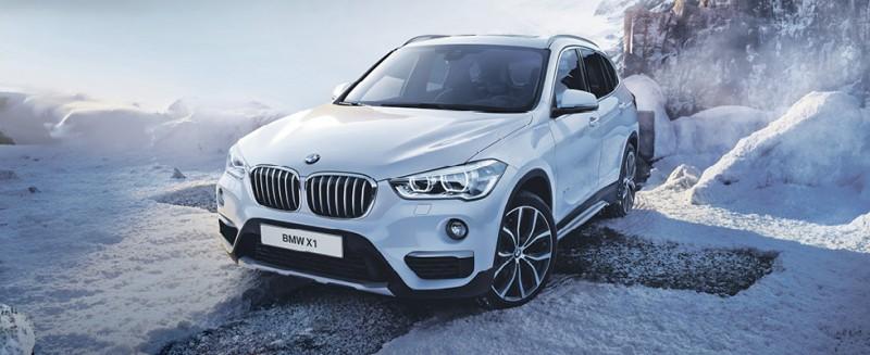 Täysin uusi BMW X1
