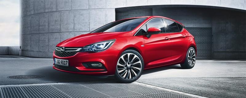 Täysin uusi Opel Astra