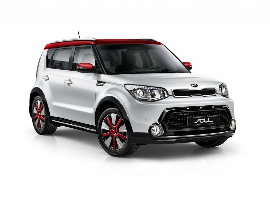 Kia Soul MY14 Red Highlights
