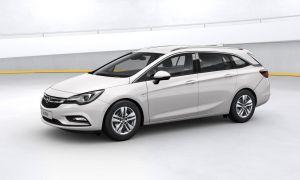 Opel Astra kaasuauto CNG