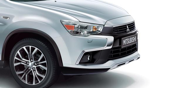 new-front-bumper Mitsubishi ASX my17