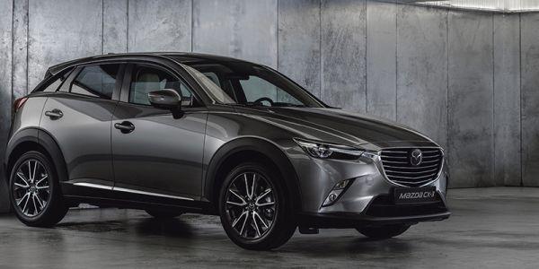 Uudistunut Mazda CX-3 ensiesittelyssä
