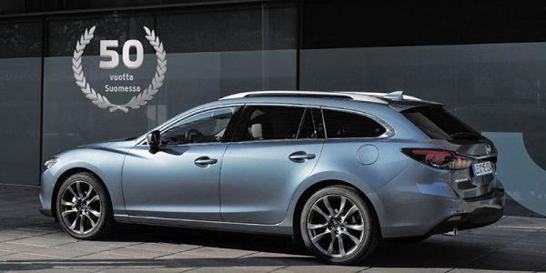 Mazda 50 vuotta Suomessa