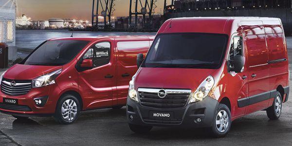Opel tavara-autot - Combo, Movano ja Vivaro