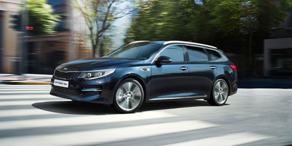 Kia Optima farmari vain 299 €/kk