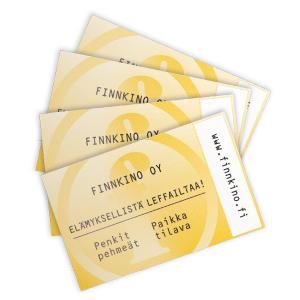 Finnkino sarjaliput 4 lippua 47 €