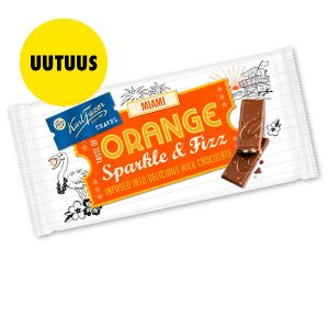 Uusi Fazer Travel Orange Sparkle & Fizz 2 kpl 5 €